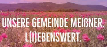 Unsere Gemeinde Meißner. L(i)ebenswert.
